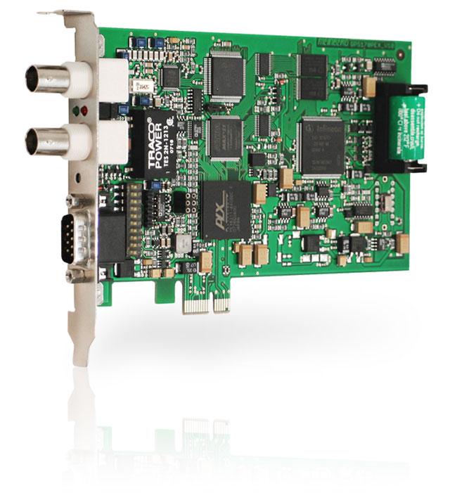 GPS170PEX : GPS Clock for Computers (PCI Express)