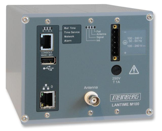 LANTIME M100/GPS : Rail Mount NTP Server