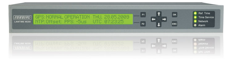 LANTIME M200/GPS : Compact NTP Time Server with integrated