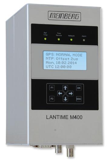 LANTIME M400/GPS : Rail Mount NTP Time Server with GPS Radio