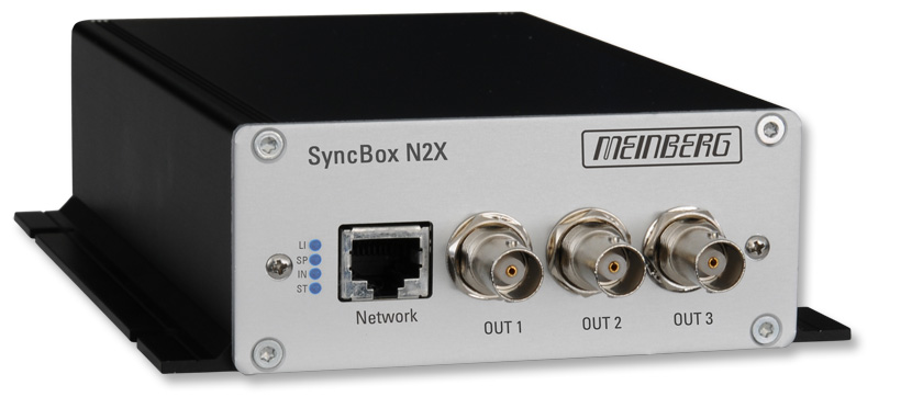 SyncBox N2X : PTP / NTP Time Signal Converter